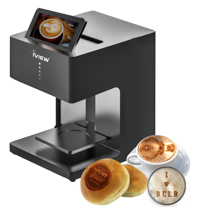 iview picasso coffee printer beer printer